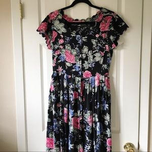 Boutique Europa floral dress